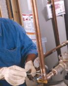 Analyze the plumbing assessment webpages for authentic client help and advice